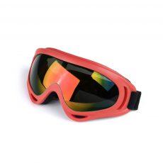 Горнолыжные очки красные