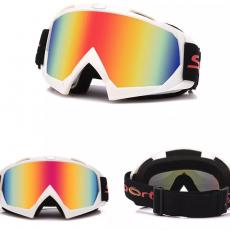 Лыжная/МОТО V2. маска горнолыжные очки защита от UV лижна окуляры вело