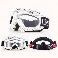 Белая маска для сноуборда