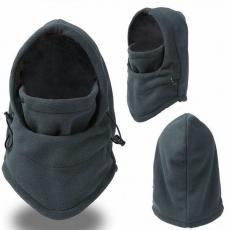 Балаклава зимняя флисовая до -20 маска, подшлемник, шапка флис баф